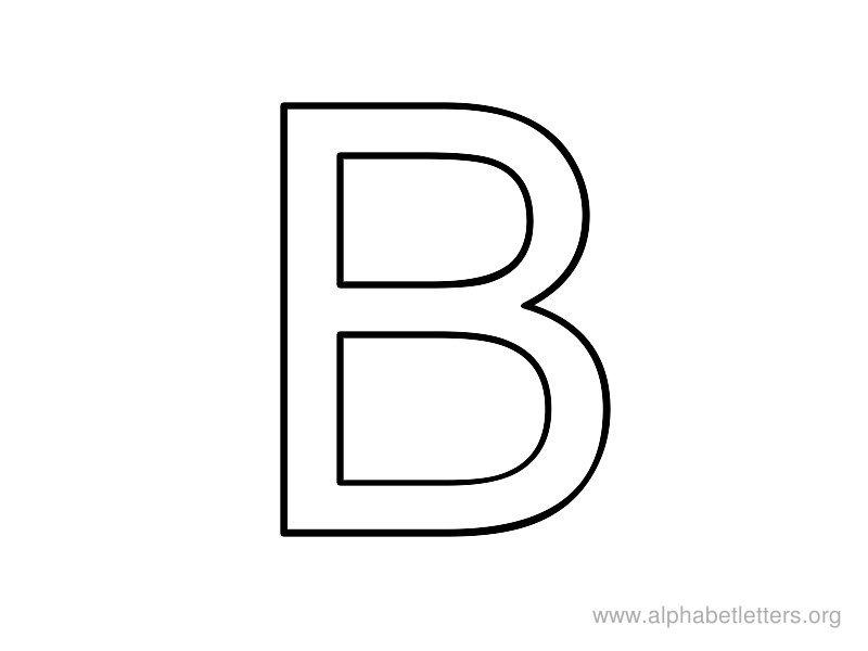 Printable Letters B