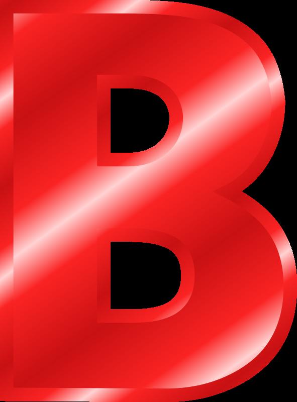 B clipart red. Letter c alphabet transparent