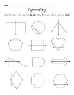 B clipart symmetrical figure.  nd grade rd