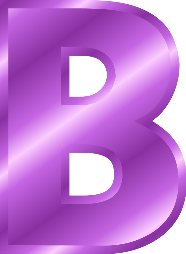 Letter B PNG