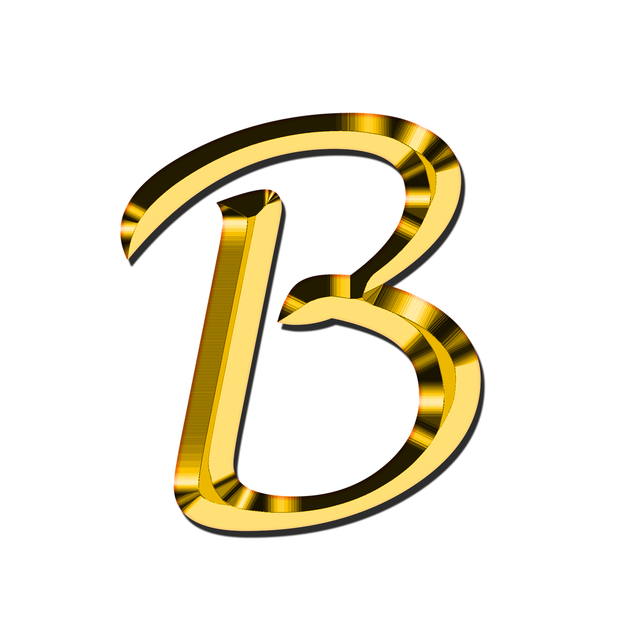 B clipart transparent. Capital letter png stickpng