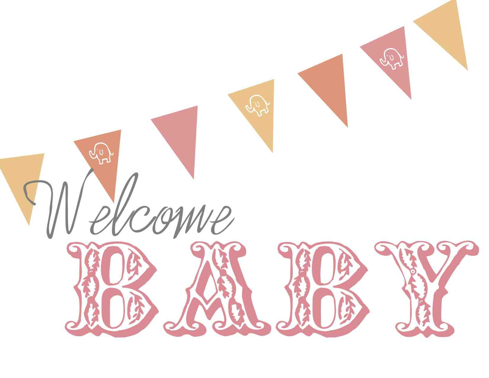 Welcome baby welcomebaby clip. Babies clipart banner