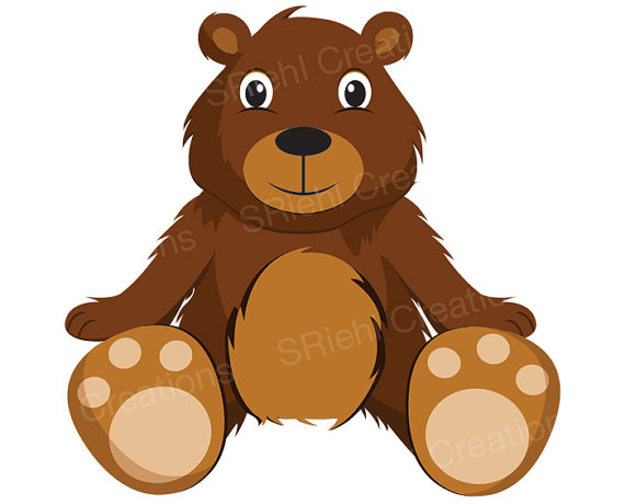 Bear clipart bear cub. Teddy cute clip art