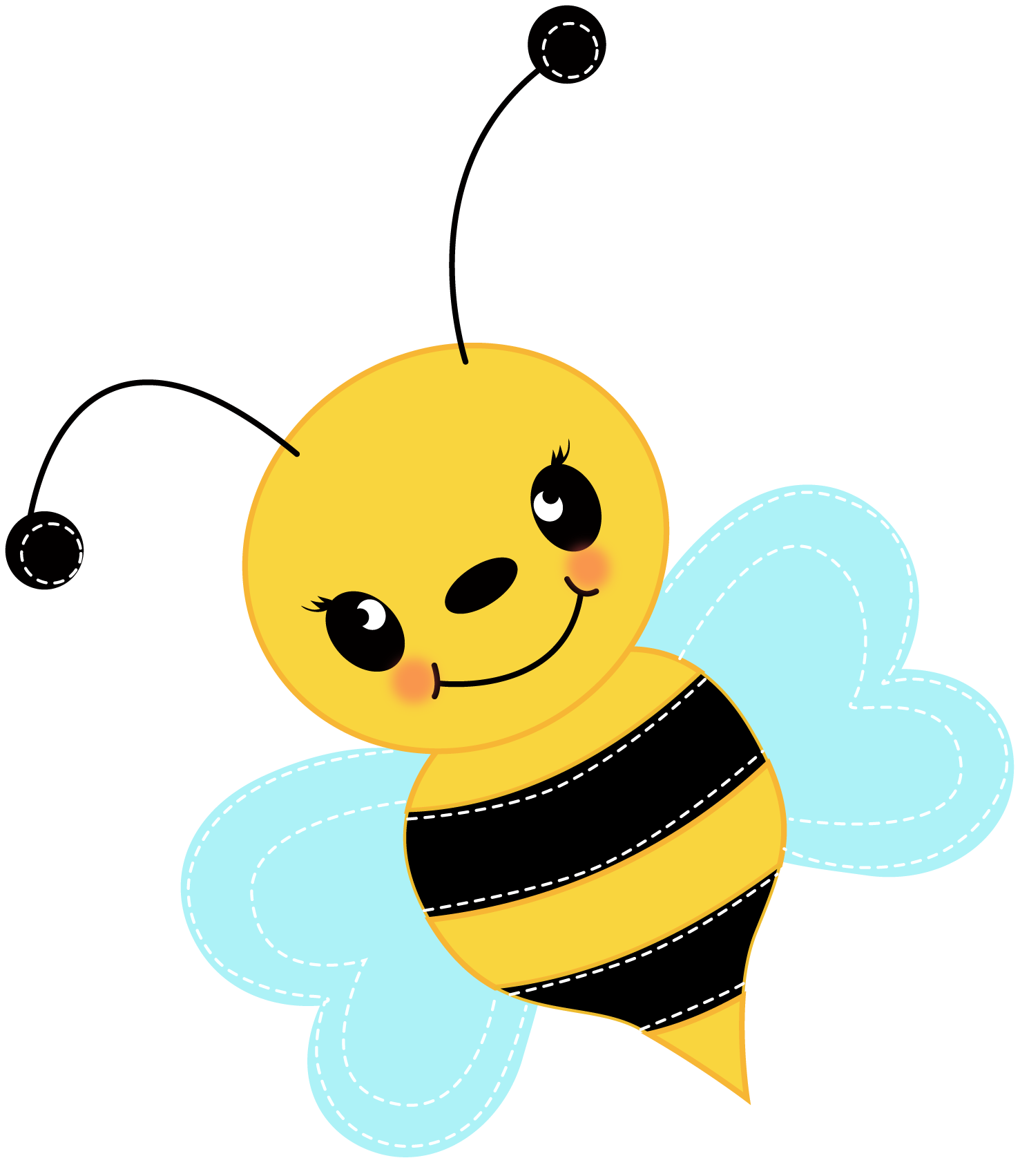 Cute baby panda free. Bumblebee clipart busy bee