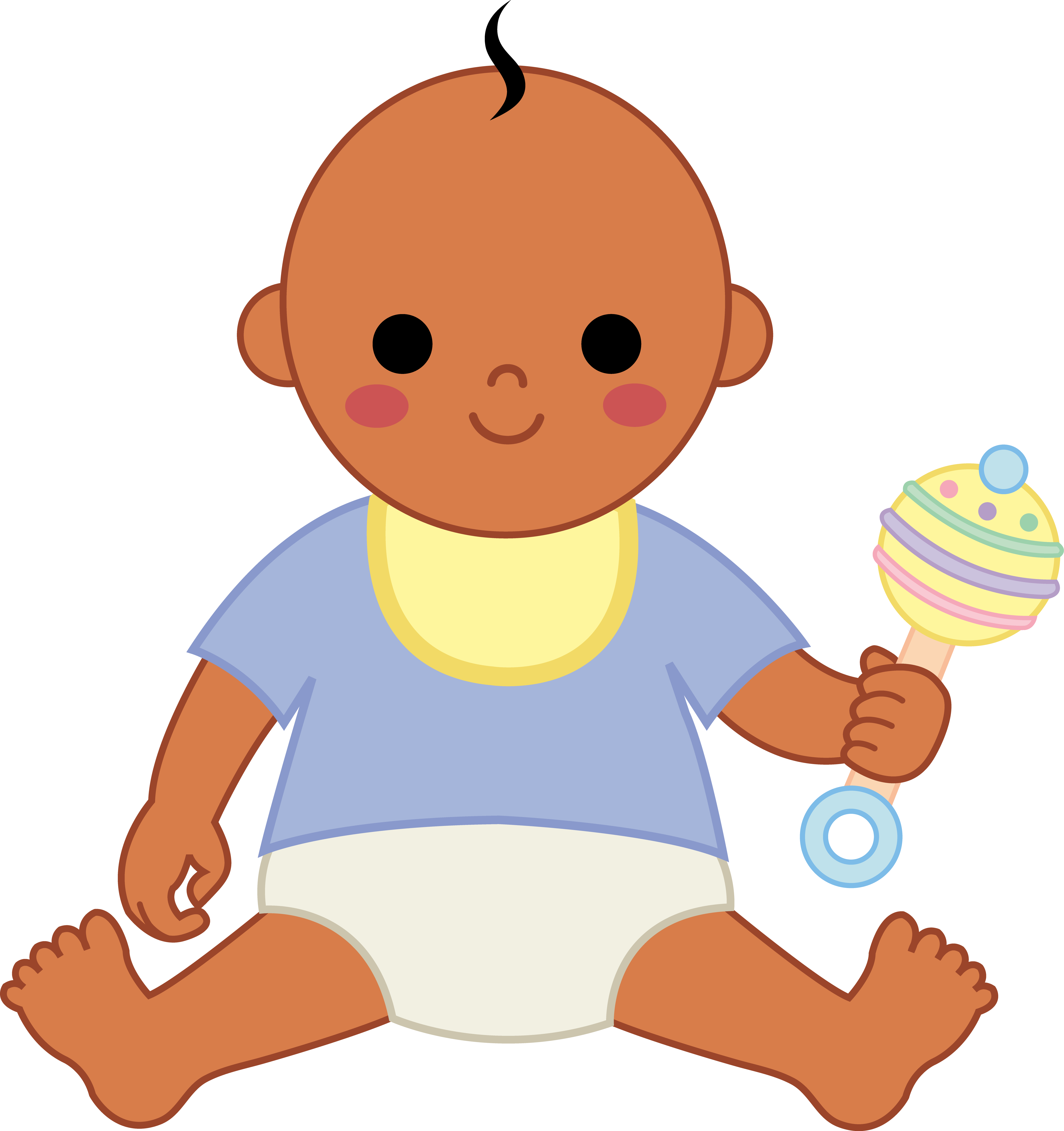 Infant clipart baby indian. Free boy download clip