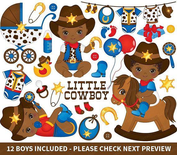 Babies clipart cowboy. Baby vector newborn african