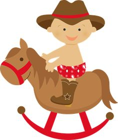 Babies clipart cowboy. E cowgirl minus alreadyclipart