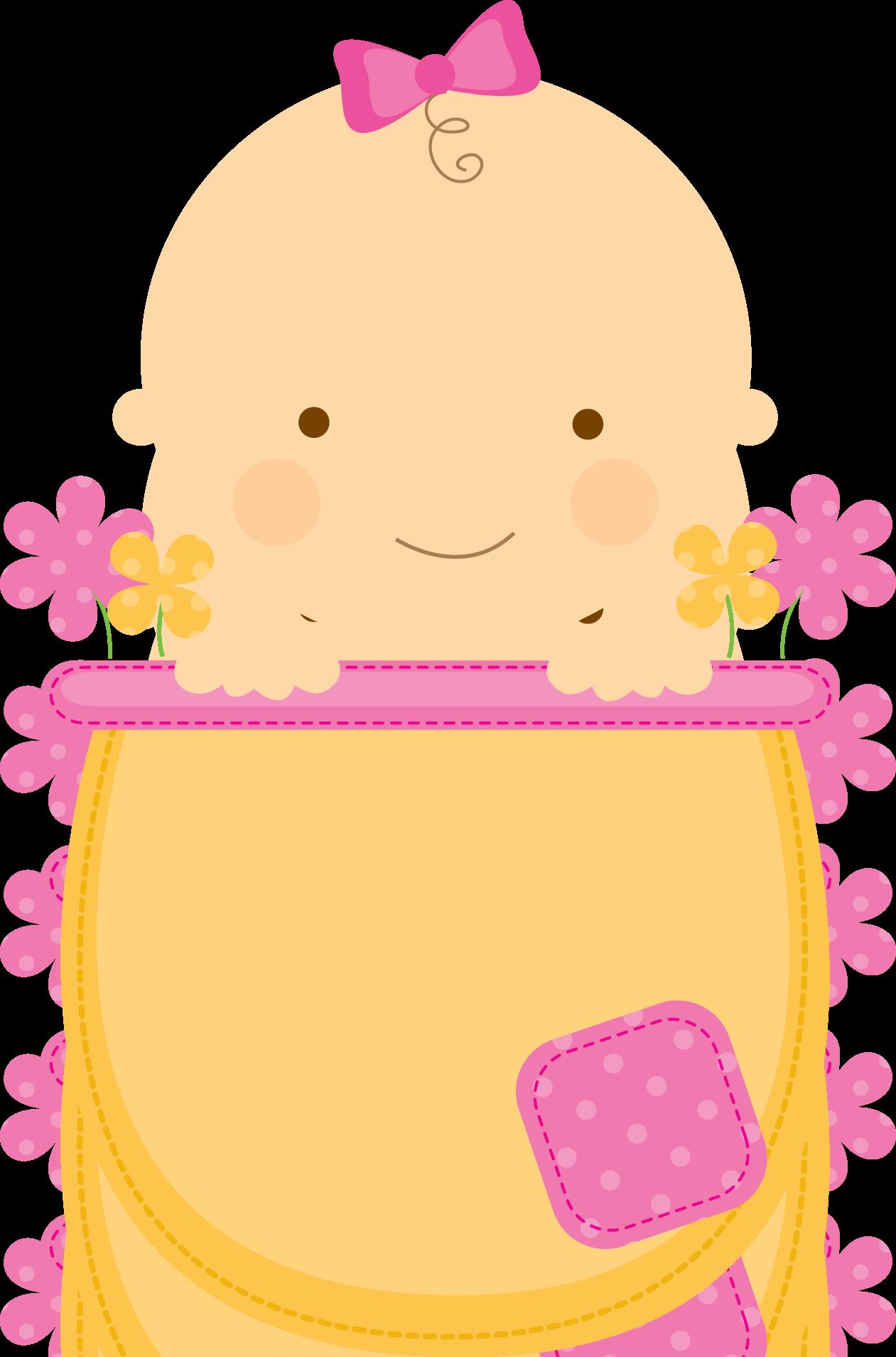 Clipart frame baby shower. Flowerpot babies babyinflowerpot pink