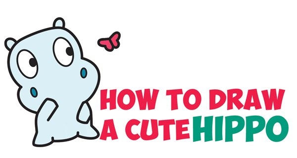 Babies clipart easy. Draw cute baby animals