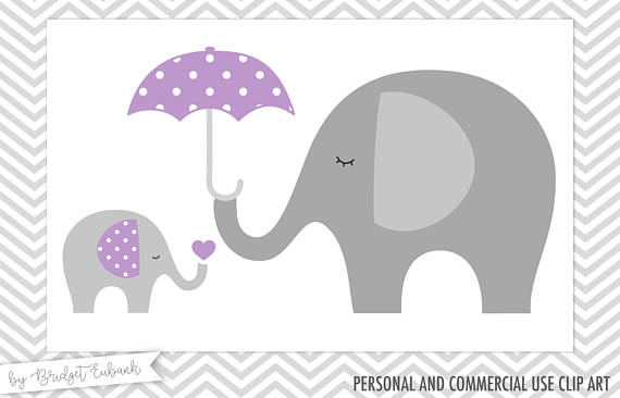 Baby shower clip art. Chain clipart elephant