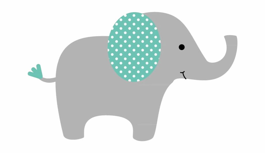 Png image . Elephant clipart baby shower