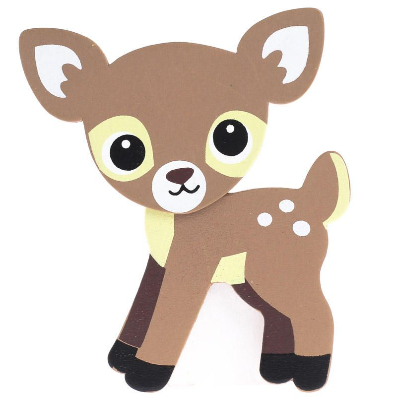 Babies clipart fawn. Finished baby deer wood