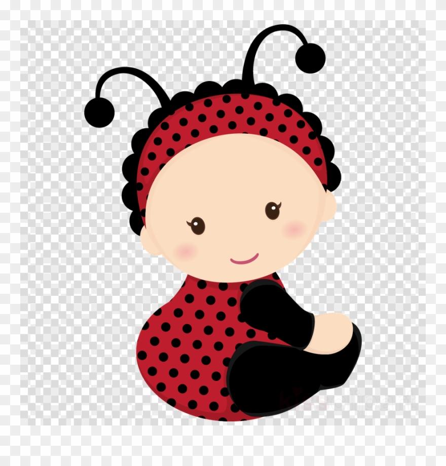 Ladybug infant insect clip. Ladybugs clipart baby shower