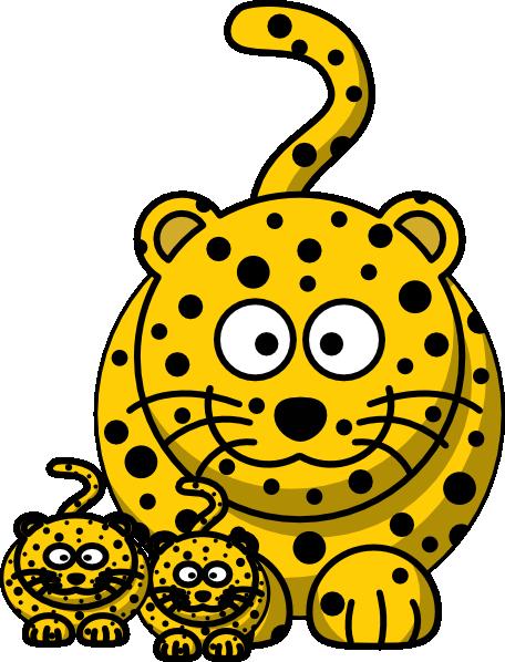 Babies leopard