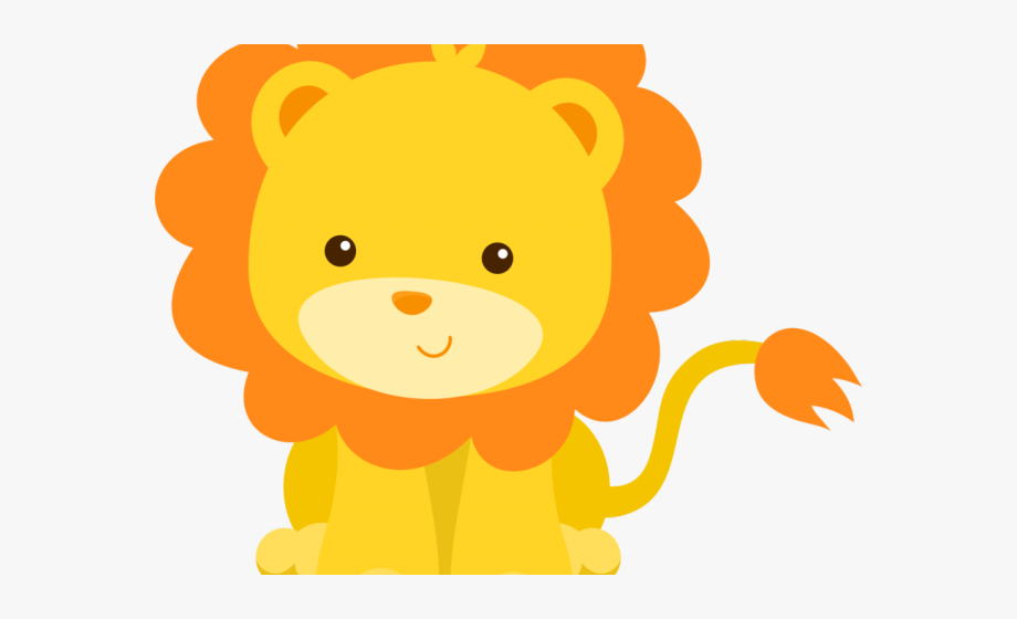 Cliparts free . Clipart lion baby shower