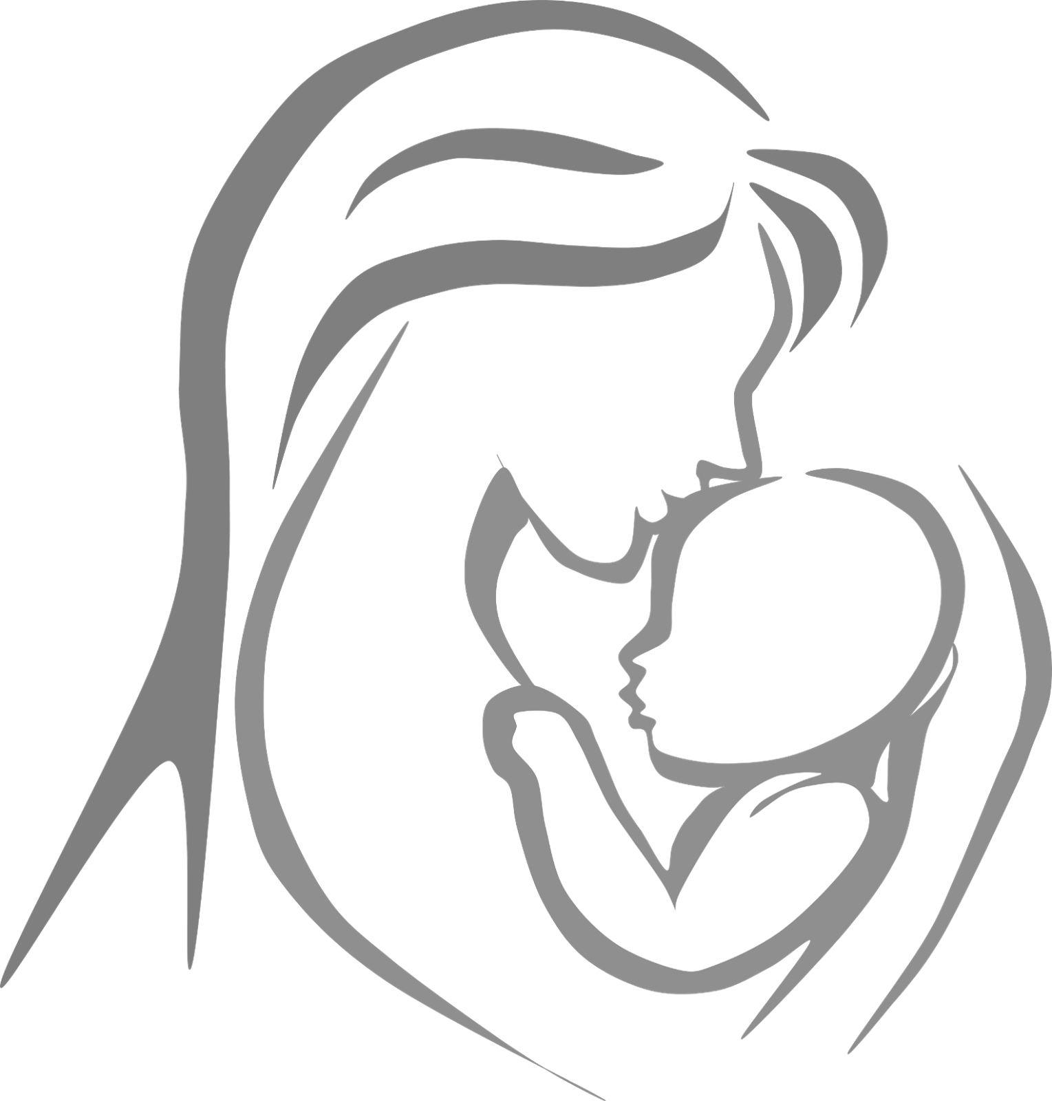 Gallery free mother baby. Caring clipart caring mom