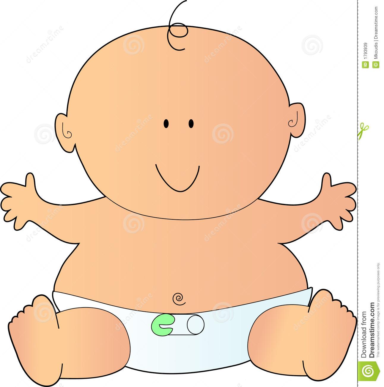 Babies clipart newborn. Cute baby