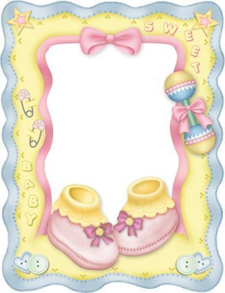 Baby clipart frame. Book ideas pinterest babies