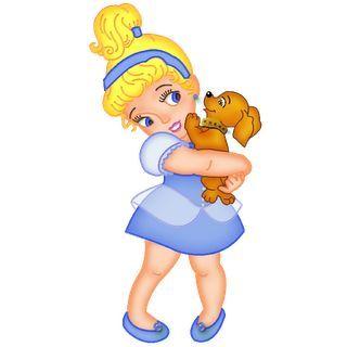 Disney babies princesses clip. Baby clipart princess