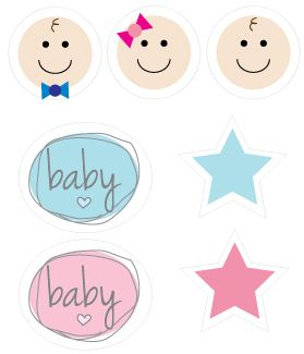 Cutest Baby Shower Clipart
