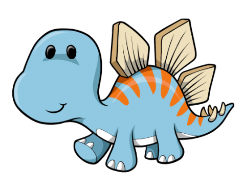 Creation clipart cute. Free download baby dinosaur