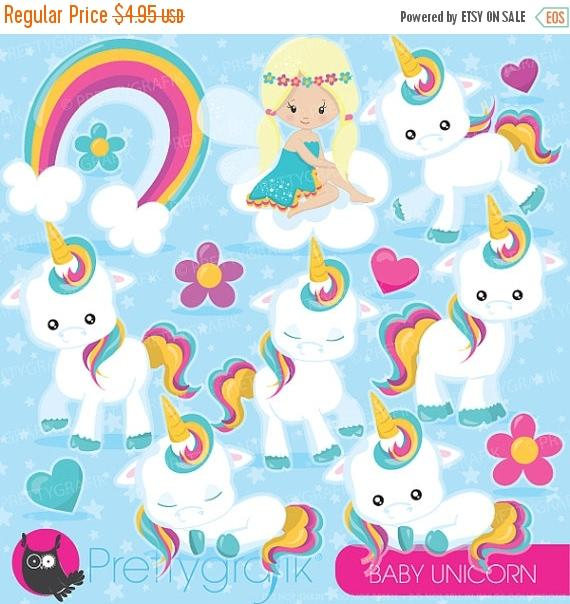 Baby clipart unicorn.  off sale commercial