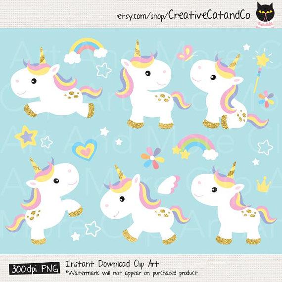 Babies clipart unicorn. Gold clip art pony