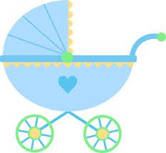 Carriage clipart cute. Baby girl pink free