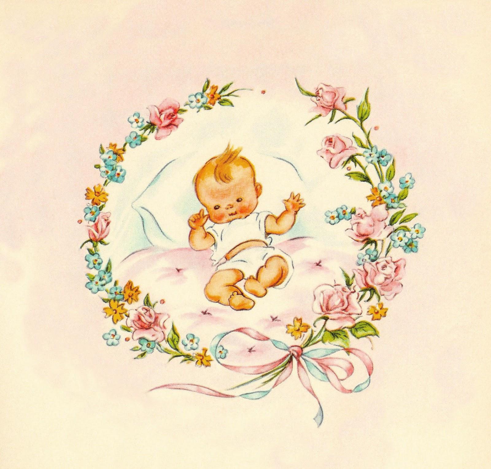 Antique images baby clip. Babies clipart vintage