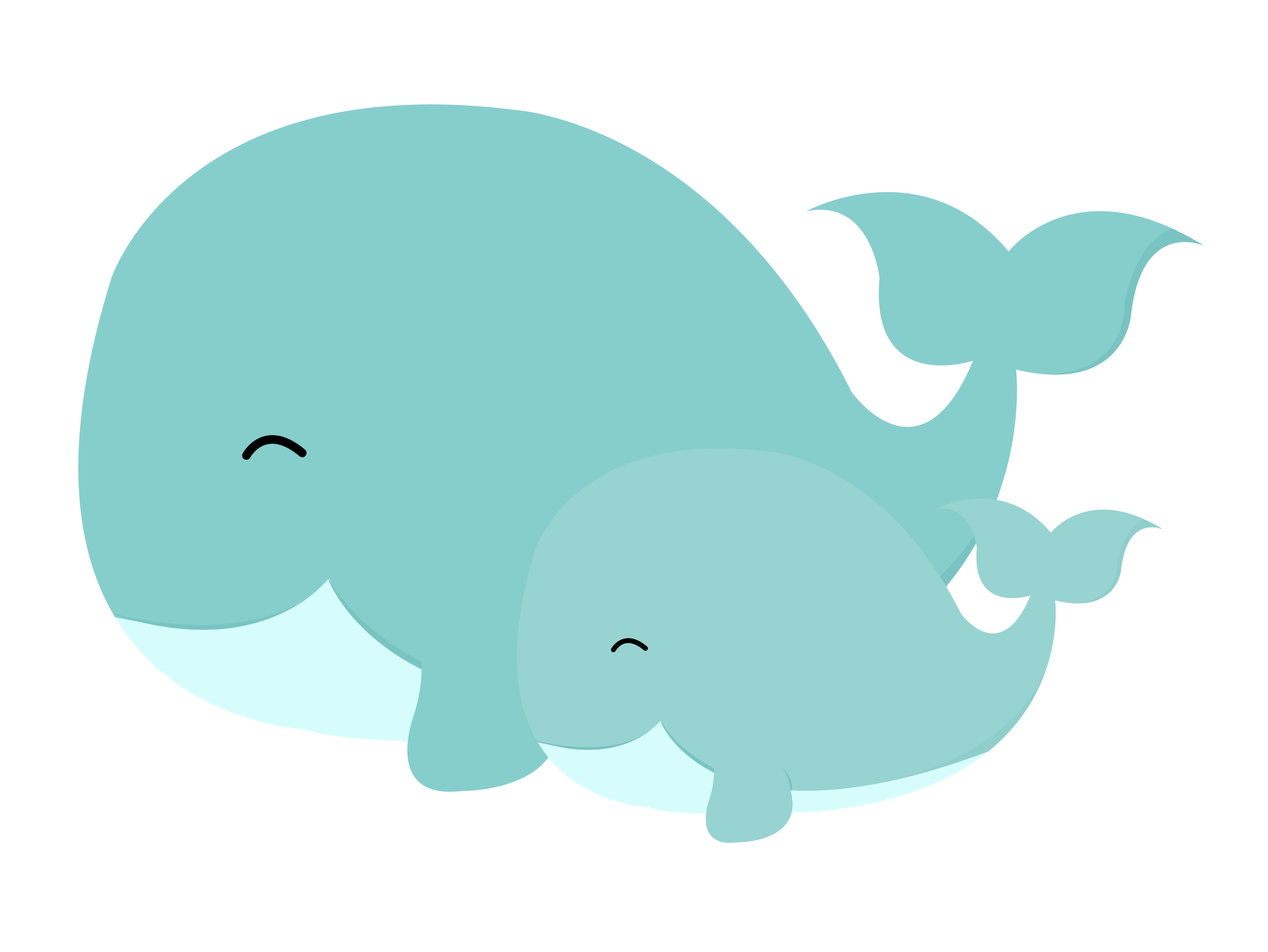 Dolphin clipart kid. Cat mom and baby