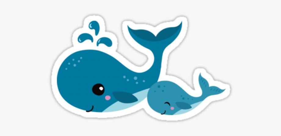 Clipart whale mom baby. Blue mommy cute cartoon