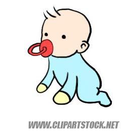 Clip art stock weblog. Baby clipart