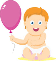 Baby clipart. Free clip art pictures