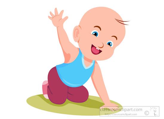 Free baby clip art. Goodbye clipart