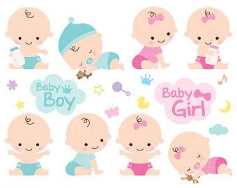 Baby clipart. Etsy shower clip art