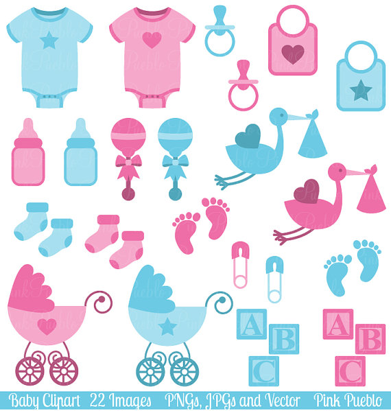 Clip art boy and. Baby clipart baby shower