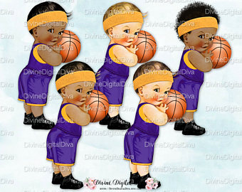 Boy etsy little prince. Baby clipart basketball