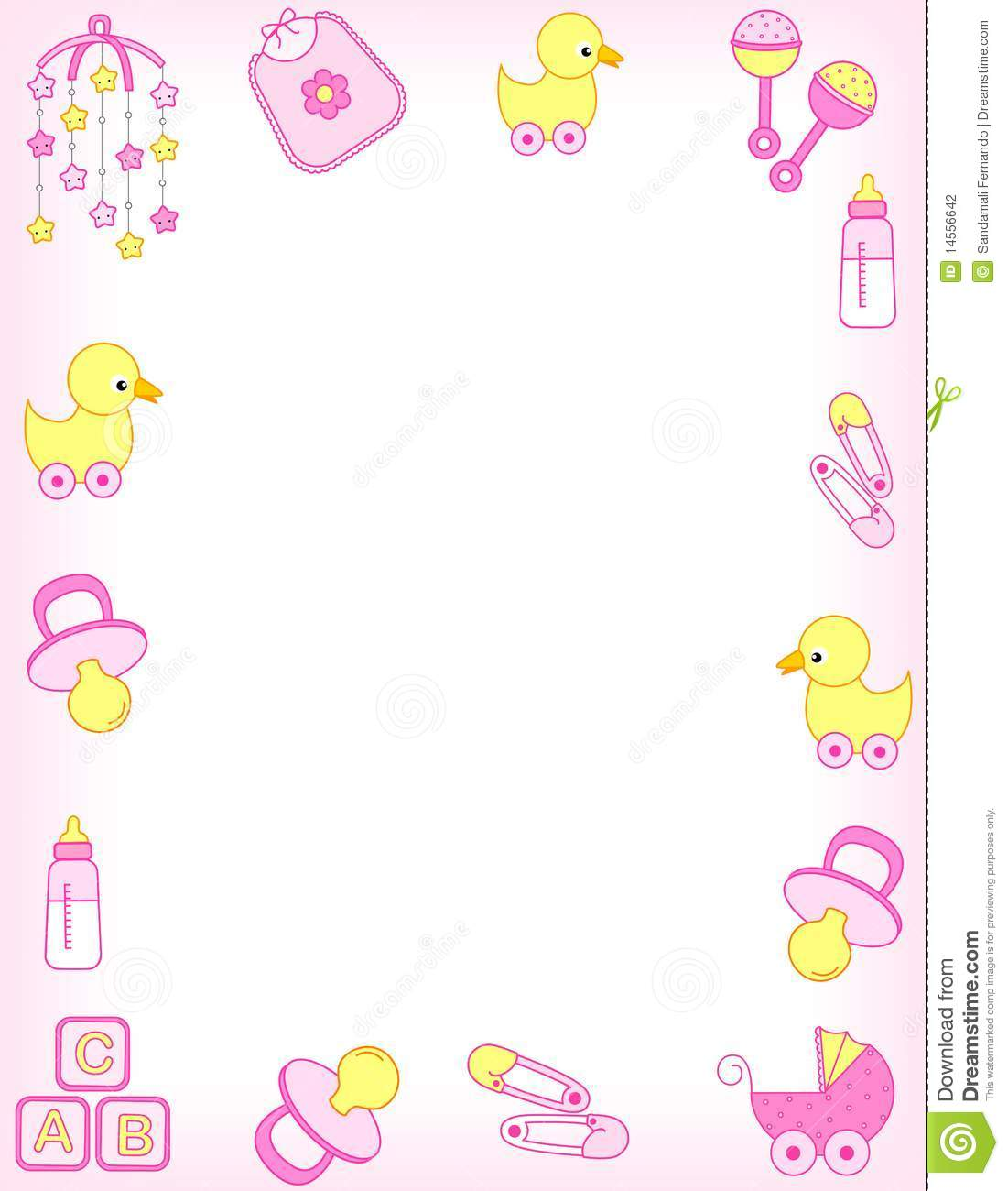 Baby clipart border. Img clipartxtras com bd