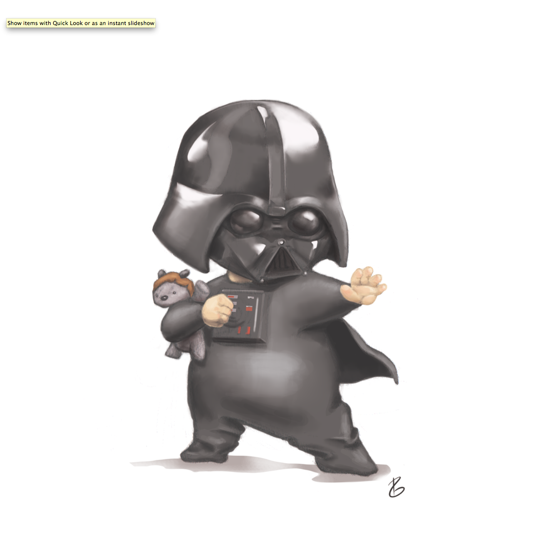 Baby clipart darth vader.  collection of drawing