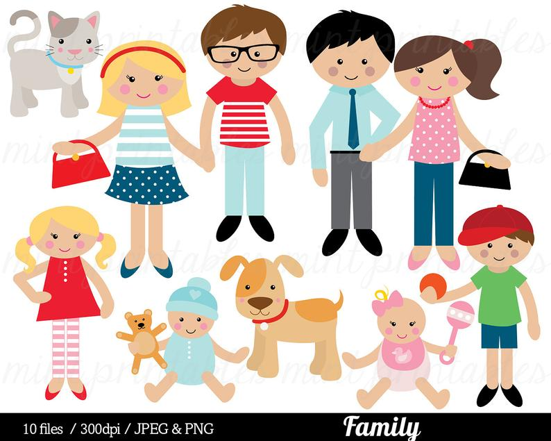 Clip art mom mum. Brothers clipart family