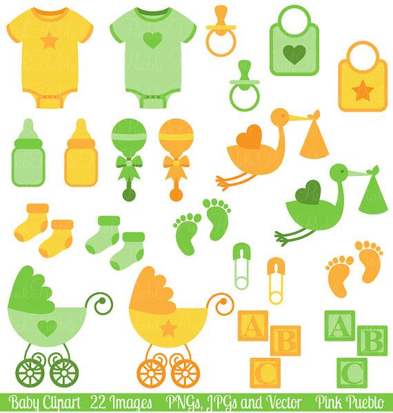 Clip art shower like. Baby clipart gender neutral