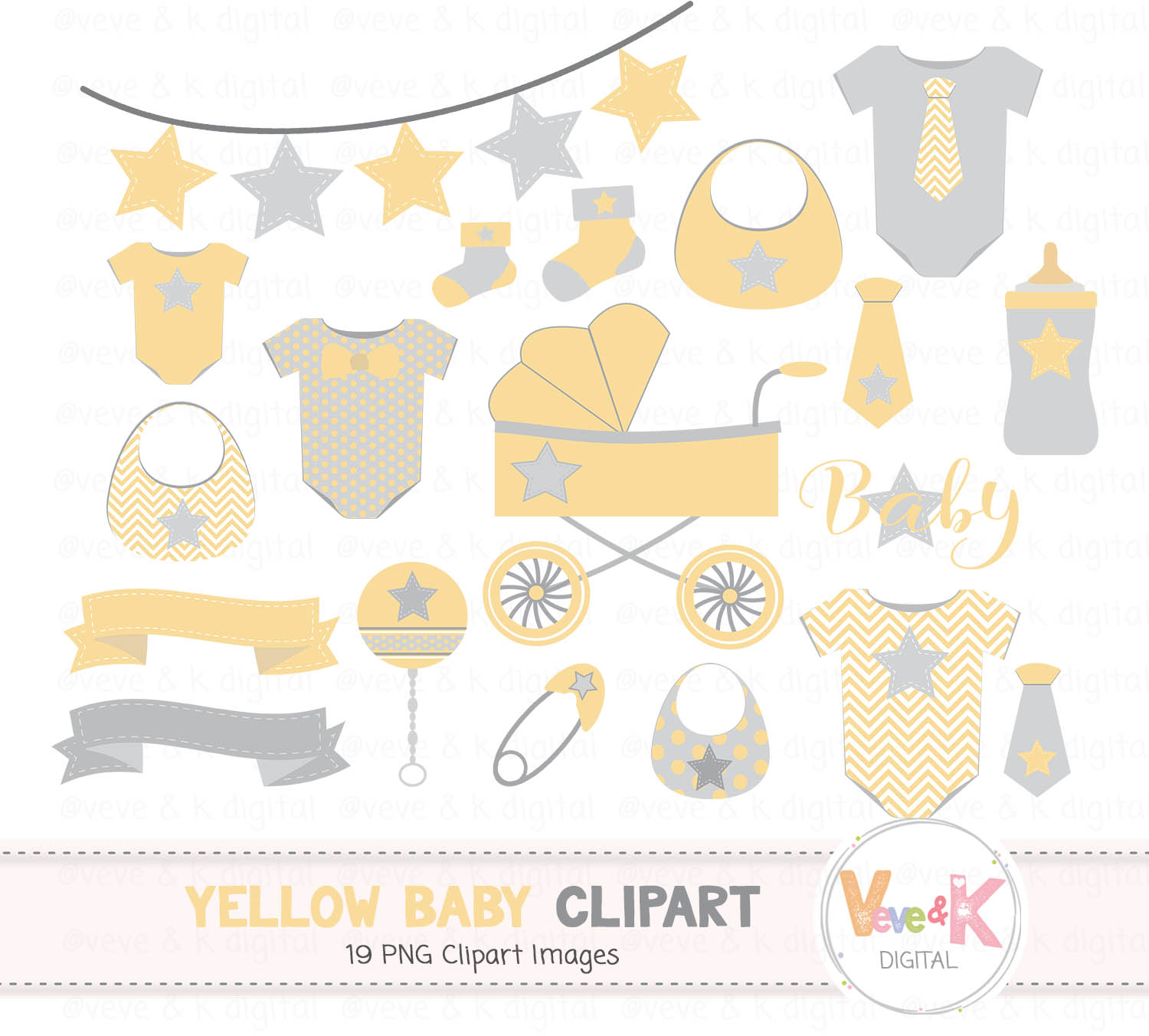 Yellow shower graphics and. Baby clipart gender neutral