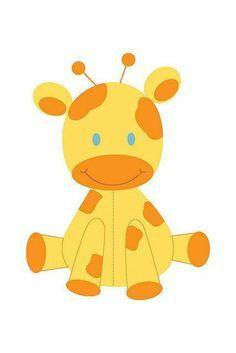 Yellow elephant clip art. Baby clipart giraffe