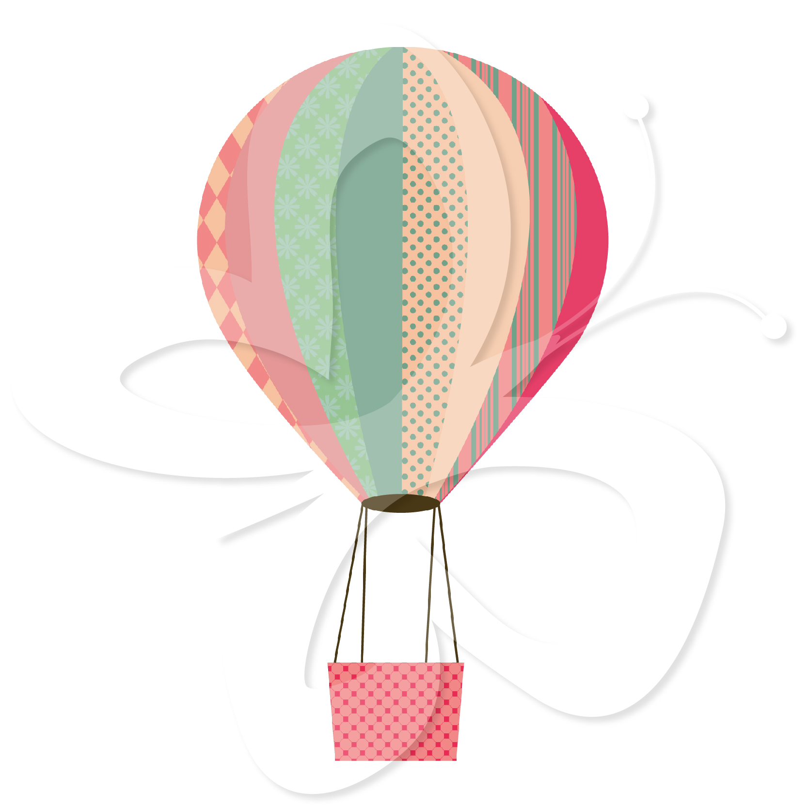 Panda free images hotairballoonclipartbaby. Baby clipart hot air balloon