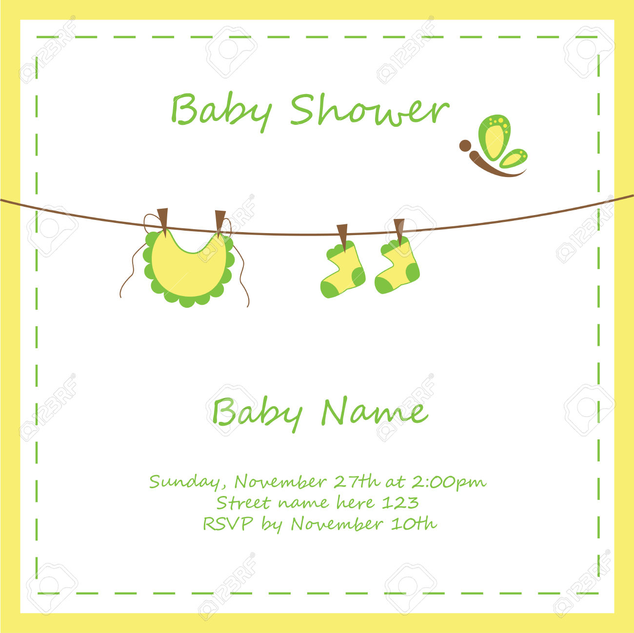Download shower blackbirdphotographydesign com. Baby clipart invitation