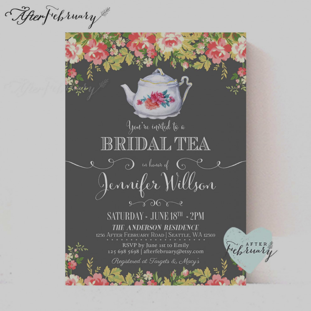 Baby clipart invitation. Latest bridal shower tea