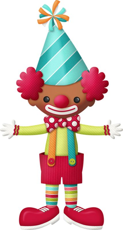 best payasos images. Baby clipart joker