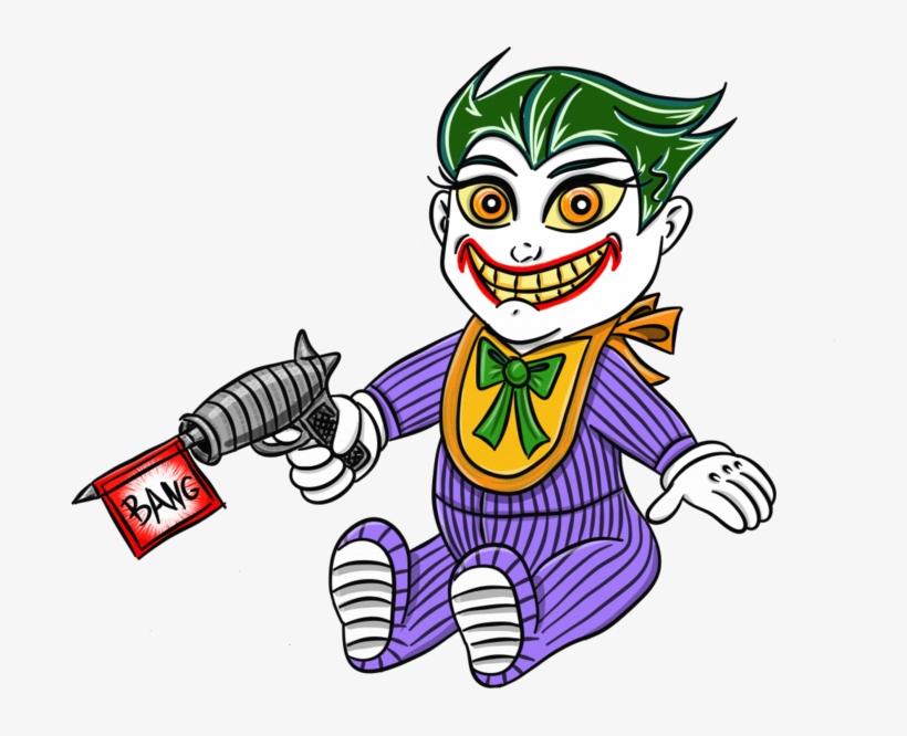 Baby clipart joker. As a transparent png