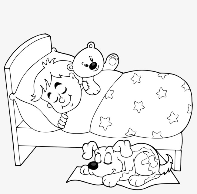 Black and white of. Baby clipart line drawing