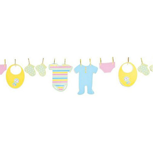 Baby clipart logo. Clothesline free collection download